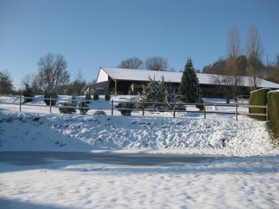 Un Ciel de station des sports d'hiver